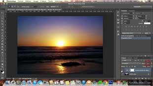Améliorer les couleurs d'un coucher de soleil avec Photoshop CS6