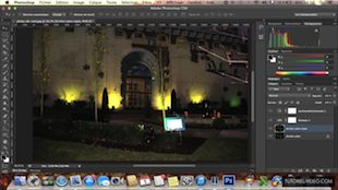 Améliorer la luminosité d'une photo prise la nuit avec Photoshop CS6