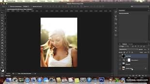 Améliorer un portrait avec des effets de lumière sur Photoshop CS6