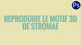 Comment reproduire le motif géométrique 3D de Stromae sur Photoshop