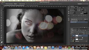 Superposition de deux photos pour créer un portrait original sur Photoshop CS6