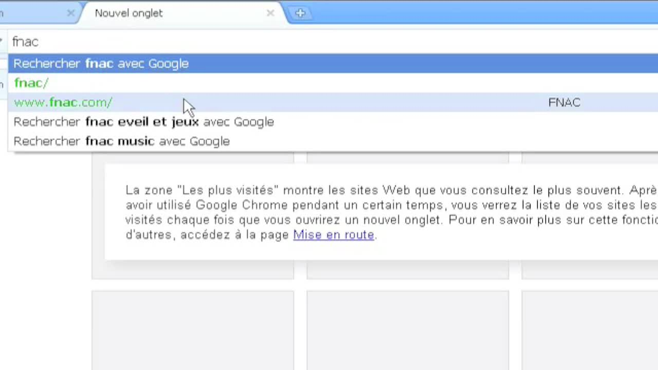 Navigation intelligente avec Google Chrome