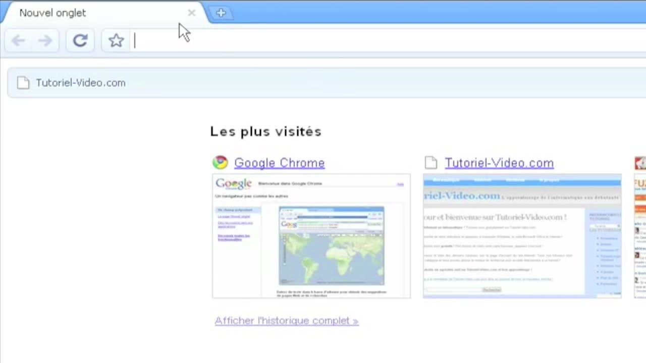 Les onglets dynamiques de Google Chrome