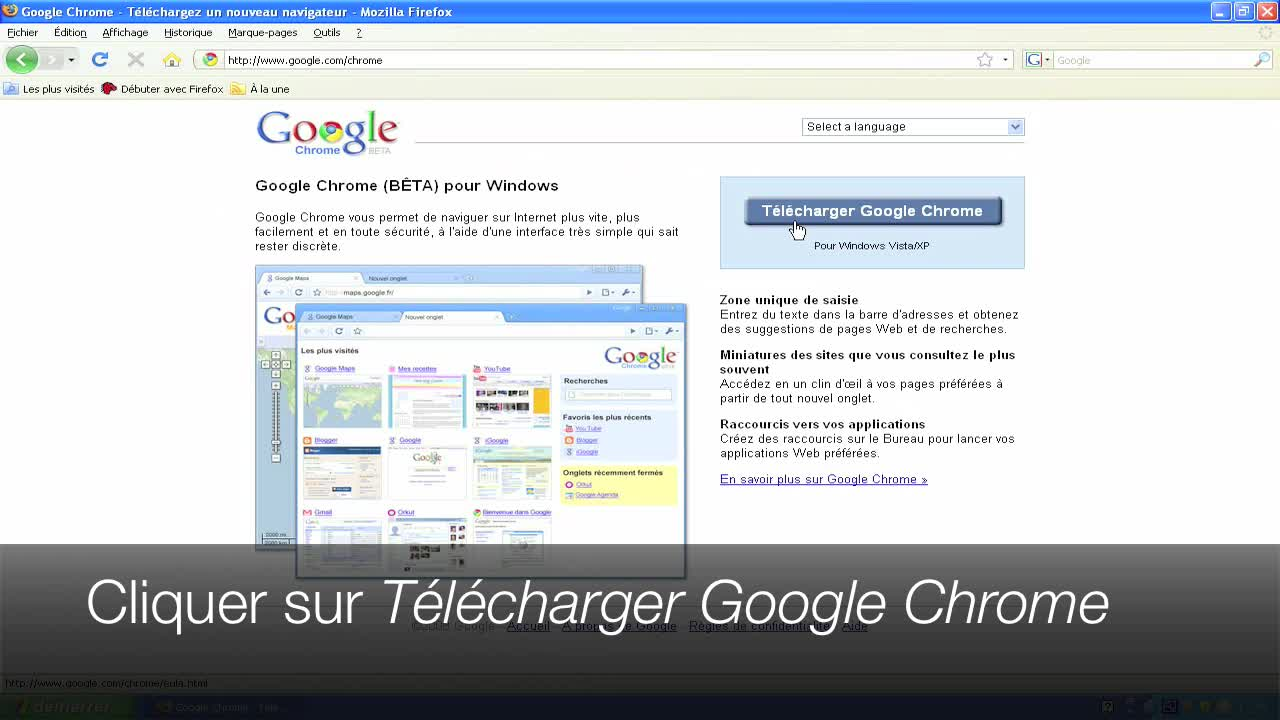 Télécharger et installer Google Chrome