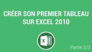 Ajouter des formules et des références avancées de cellules sur Excel 2010
