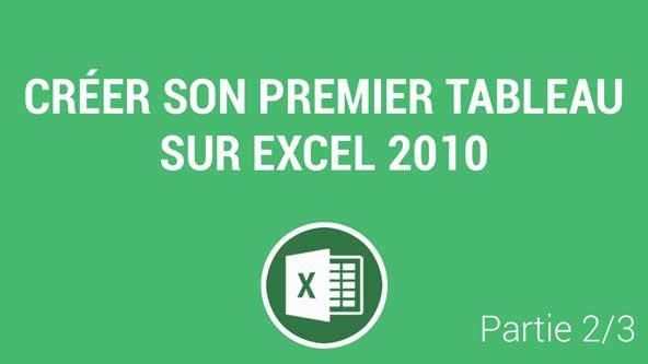 Modifier La Structure Et La Mise En Forme D Un Tableau Excel 2010 Tutoriel Video Com