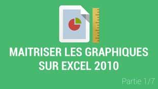 Introduction aux graphiques dans Excel 2010