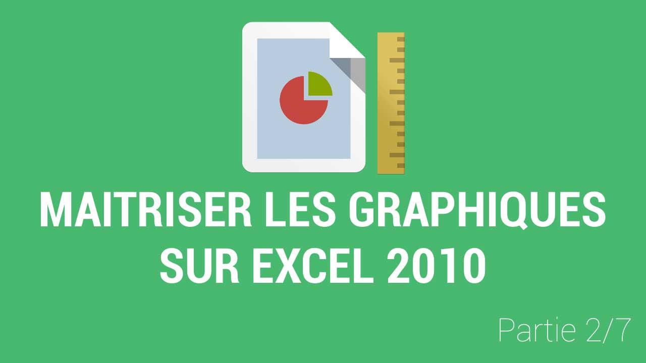 Comment les données d'une feuille apparaissent dans un graphique Excel 2010 ?