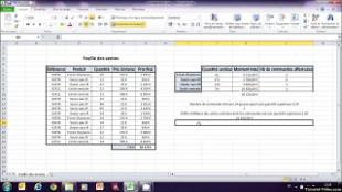 La fonction SOMMEPROD sur Microsoft Excel