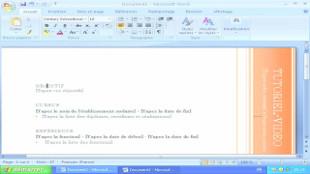 Créer Son Cv Avec Microsoft Word 2007