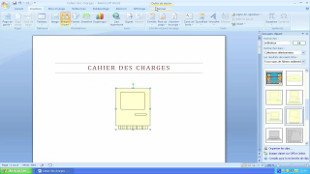 Insertion de cliparts dans un document Word 2007