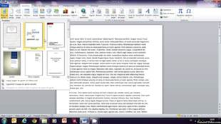Insertion d'une page de garde dans un document Microsoft Word
