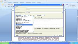 Styles et mise en forme de vos documents Word 2007