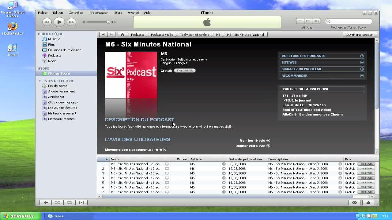 Gérer vos podcasts sur iTunes