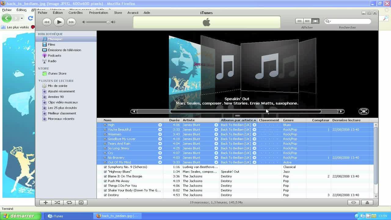Organiser votre bibliothèque numérique iTunes